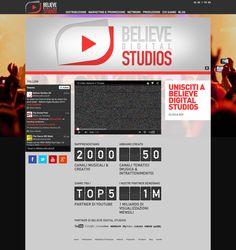 Believe Digital Studio è un network di distribuzione di contenuti video sulle piattaforme di videostreaming in Europa e nel mondo.  Ti permette di distribuire i tuoi video musicali su: YouTube, DailyMotion, JukeBo, Muzu.tv e MyVideo.