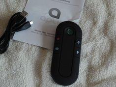 Aplic - Bluetooth Auto Freisprecheinrichtung | Wireless Bluetooth-Freisprechanlage | Handsfree Car-Kit | ca. 10 m…