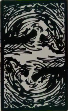 Kakegurui - tarot card - back