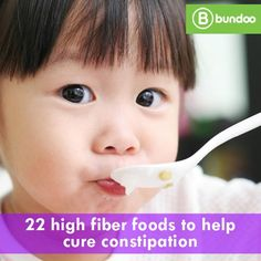 Fiber is one key to keeping kids regular. Check out 22 high fiber foods to help with constipation. High Fiber Baby Food, High Fiber Toddler Foods, Fiber Foods For Kids, Fiber For Kids, Fiber Snacks, Fiber Rich Foods, High Fiber Foods, Toddler Meals, Toddler Stuff