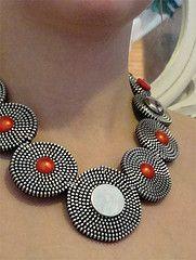 . zipper necklace