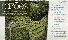 5ª Razão - Lazer    Os condomínios Paysage possuem organização e estruturas de lazer, como salão de festas, espaço fitness, quadras poliesportivas, piscina, salão de jogos e playground. Conforto inigualável e espaços de convívio que promovem a integração social.    Vendas ou dúvidas aqui http://on.fb.me/Sws5Mf
