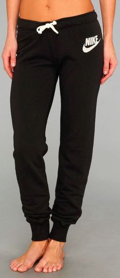 Wear with new Sorel boots. Nike comfy and easy casual pant fashion