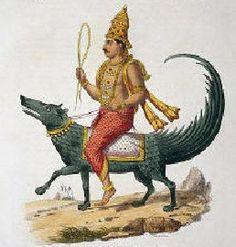 Varuna - god of the sky, water & celestial oceans, law, underworld