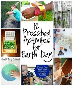 12 Preschool Activities for Earth Day - Teaching Kids about the Earth and Conservation