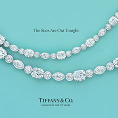"Tiffany & Co. ""The Stars Are Out Tonight"" Advertisment Tiffany & Co. Tiffany Jewelry, Tiffany Rings, Color Azul Tiffany, Jewelry Box, Jewelry Accessories, Jewlery, Fine Jewelry, Tiffany & Co., Tiffany Stone"