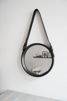MY LEATHER STRAP MIRROR PROJECT