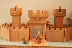 Charming the Birds from the Trees: Kinderkram Mini Castle Set