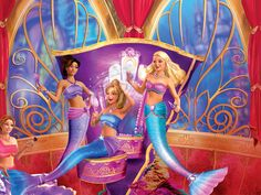 Barbie - Die magischen Perlen (2014) This is the tale of a young mermaid who is being raised by her aunt. This young mermaid has the power to control pearls and make beautiful magic with them. One day her Aunt is called upon by a member of the royal family to help out at the official passing of the crown from the king and queen to the young prince since the death of the young princess. When the young mermaids aunt forgets her invitation to the royal party, the young mermaid takes off to give…