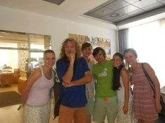 Robert Plant photographed with fans in the Czech Republic July 19, 2014.