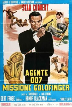 Sir Sean Connery as Bond, James Bond. Sean Connery, Casino Royale, Shirley Eaton, Service Secret, James Bond Movies, Roger Moore, Original Movie Posters, Cinema Posters, Comic Book Artists