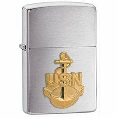 Zippo Anchor Emblem Lighter (280ANC) - by Zippo. $36.98. Zippo Refillable Anchor Emblem Lighter