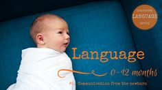 """Newborn communication on the journey to language. 0-6 months. """"It is in these early weeks and months that caregivers set up routines with their babies, rituals around daily activities that actually create the framework for language development."""" Caregivers, you do so much to help your child's language. Thank you! Check out #2 in our language series, all about the first 6 months. Liz Donnelly xx"""
