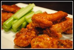 Oven-Fried Buffalo Chicken Wings + Sauce