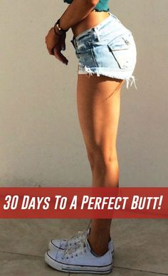 Bubble Butt is now the height of fashion and today we will talk about some exercises that can increase the size of your butt in thirty days or less.