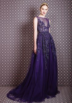 Georges Hobeika - Fall-Winter Ready-to-Wear Collection Georges Hobeika, Purple Gowns, Purple Dress, Evening Dresses, Prom Dresses, Purple Fashion, Beautiful Gowns, Couture Fashion, Paris Fashion