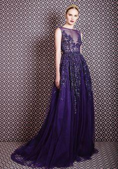Georges Hobeika - Fall-Winter Ready-to-Wear Collection Georges Hobeika, Purple Gowns, Purple Dress, Evening Dresses, Prom Dresses, Formal Dresses, Couture Fashion, Runway Fashion, Paris Fashion