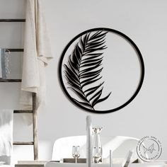 Leaf Wall Art, Plant Wall, Outdoor Walls, Metal Signs, Metal Walls, Wall Signs, Decorating Your Home, Art Pieces, Wall Decor