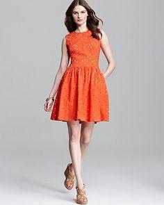 VINCE CAMUTO Sleeveless Cutout Dress   Bloomingdale's