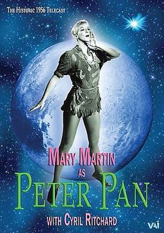 Peter Pan Mary Martin,Cyril Ritchard,Mark Charlap & Carolyn Leigh(Format:DVD)