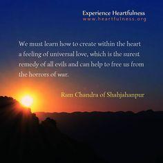 """Universal Love #Heartfulness"""