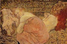 Henri De Toulouse-Lautrec | Two Friends - Henri de Toulouse-Lautrec - WikiPaintings.org