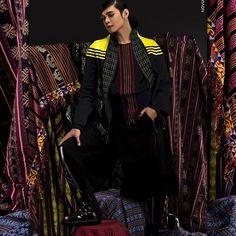 """Tenun on textile"" . . °°°°°°°°°°°°°°°°°° Muse : Yuwjin in @ajisuropati by @ajius94 ©NovumAeris °°°°°°°°°°°°°°°°°° . .  #instalikes #style #fashionblogger #fitness #fashionphotography #asian #instafashion #instadaily #iger #swagger #hot #ootd #detail #hunk #modeling #pfw #supermodel #femalemodel #highfashion #topmodel #beautymakeupandmore #fashionweek  #followme  #editorial #NovumAeris #moodygrams #etnic #ethnicity"