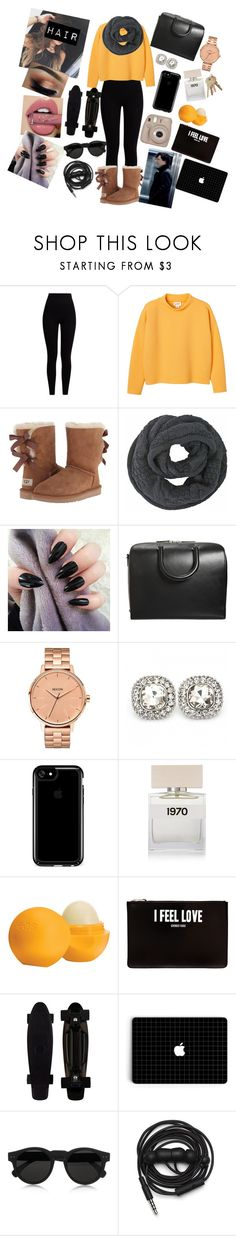 """Great Game of love"" by annaconley on Polyvore featuring Pepper & Mayne, Monki, UGG Australia, Maison Margiela, Nixon, Speck, Bella Freud, Eos, Givenchy and Illesteva"