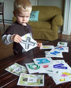 Running With Scissors: Leap Frog Letter Factory Flash Cards