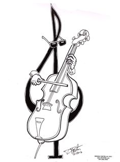 beautiful cello g clef. #musicart www.pinterest.com/TheHitman14/music-art-%2B/