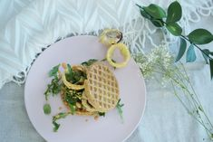 Easy Vegan Waffle Sandwich