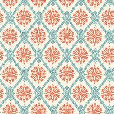 Organic Cotton Fabric-monaluna -Raaga- FILIGREE - low shipping