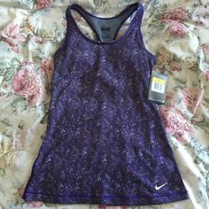 Brand New Nike Dri-Fit Tank • brand new with tags • polyester, spandex, cotton • built in bra Nike Tops Tank Tops