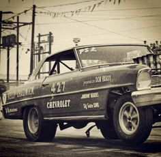 Vintage Drag Racing - A/FX - Kelly Chadwick. A real fun car to watch run back in the day. Nice guy, real good with fans.