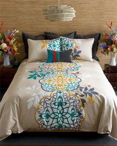 cool bedspread.
