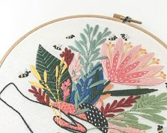 Embroidery For Beginners Hand embroidery patterns - Stumped on what to get for your favorite embroiderer? Check out these 20 hand embroidery patterns and kits available now! Perfect for beginners or pros. Floral Embroidery Patterns, Butterfly Embroidery, Simple Embroidery, Folk Embroidery, Learn Embroidery, Embroidery For Beginners, Hand Embroidery Designs, Vintage Embroidery, Embroidery Techniques