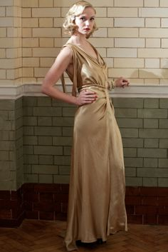 Pamela Luscombe - an upper-class bombshell played by The Paradise's Joanna Vanderham - #BBC #drama Dancing on the Edge (2013) #1930s