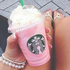 Vanila frapachino with rasberry is always a favorite of mine ay Starbucks