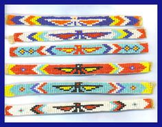 Native american beaded rosettes strips headbands apologise, but