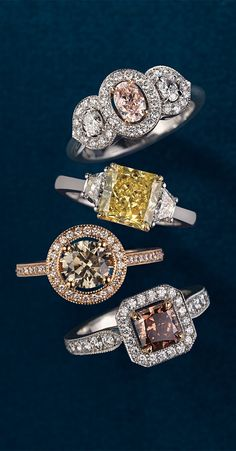 Blue Nile has a meticulously selected collection of colored diamonds that make unique, breathtaking gifts for that special someone. Which is your favorite?