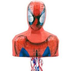 Check out Spiderman Pinata (each) - Cheap Party Accessories and Decorations from Wholesale Party Supplies
