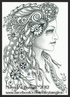 Fairy Tangles: Rachel - Steampunk Fairy-Tangle  --by Norma J Burnell