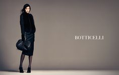 #BOTTICELLI_12FW 09 AD  #MODEL : #TIANATOLSTOI