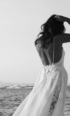 Thought it was just a beautiful, beachy wedding dress....clicked on the picture and saw its named after me, Hollie. Almost like it was meant to be!