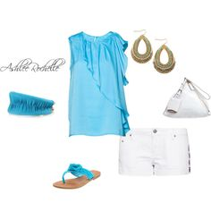 Turquoise, created by ashlee470 on Polyvore