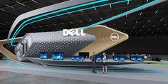 Dell exhibition stand design | | GM stand design