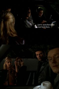 """Giles reaction is the best.  """"Dude, we're in America, and dealing with teenagers.  Relax your standards."""""""