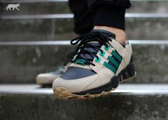 Adidas Equipment Running Support 93 Green Hemp 01