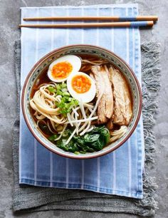 Ramen may seem like one of those dishes you can't recreate at home, but this recipe for cheat's spicy pork ramen changes that. Rather than spending hours making stock, we buy a good flavoured one and spike it with Asian aromatics.