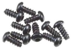 AXA0422 - Axial Hex Socket Tapping Button Hd M 2.6x6 mm Black (10) SCX10 Yeti Yeti XL Wraith
